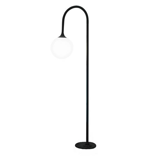 """STREETPOST FLOOR LAMP    Materials: Powder-coated steel with poly shade  Dimensions: 72""""H x 22""""W    Options: Size, color, finish"""