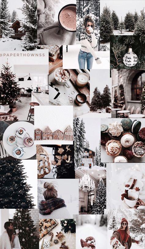 26 Collage De Papel Tapiz De Navidad Estetica De Moda Christmaswallpaperiphone 26 Collage De In 2020 Christmas Collage Christmas Wallpapers Tumblr Holiday Wallpaper