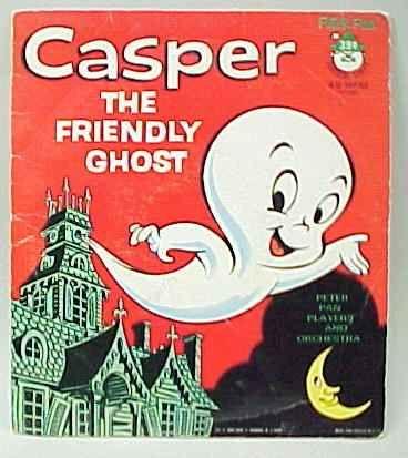 Casper. - I had a glow in the dark Casper. I think it was part of a game that I had.