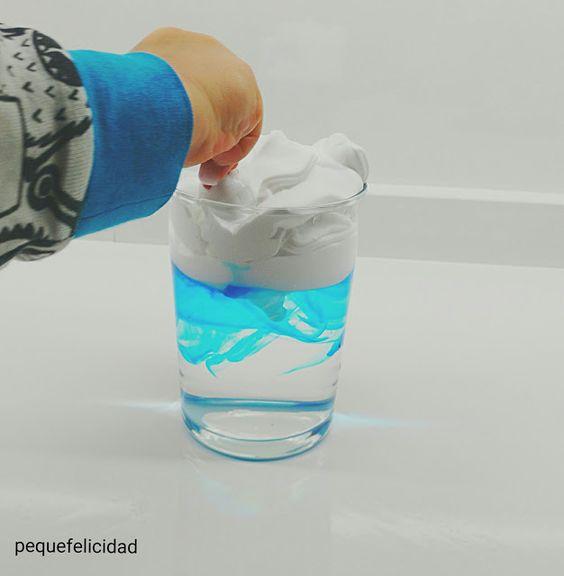 EXPERIMENTOS SENSORIALES CON ESPUMA DE AFEITAR