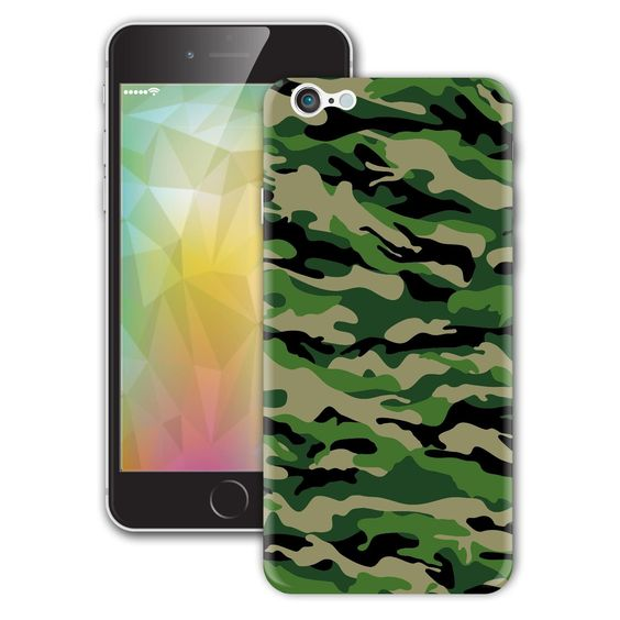 Camouflage iPhone sticker Vinyl Decal
