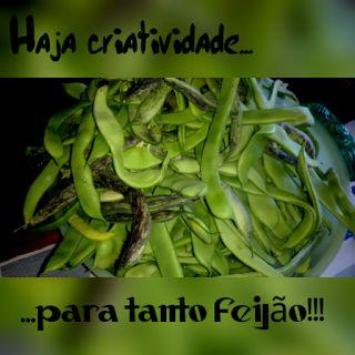Os petiscos da Gracinha: Receitas com feijão verde!