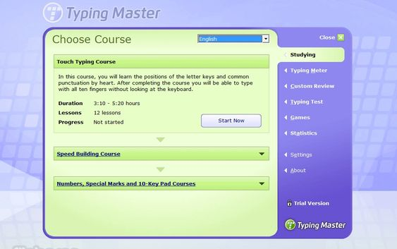 Typing Master Screenshot
