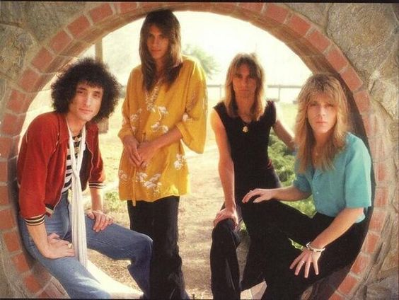 Quiet Riot, with Randy Rhoads.