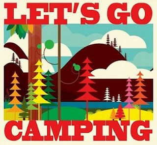 Let's go camping: Camping Hiking, Camping Fun, Packing List, Coloring Book, Camping Outdoor, Camping Ideas