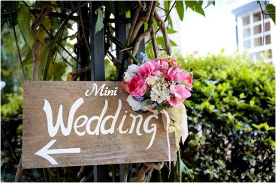 6 dicas de como fazer um mini-wedding