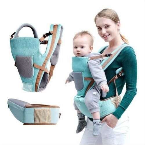 Breathable Baby Carrier Hip Seat Multifunctional Infant Sling Kangaroo Backpack Baby Carrier Top Baby Carrier Infant