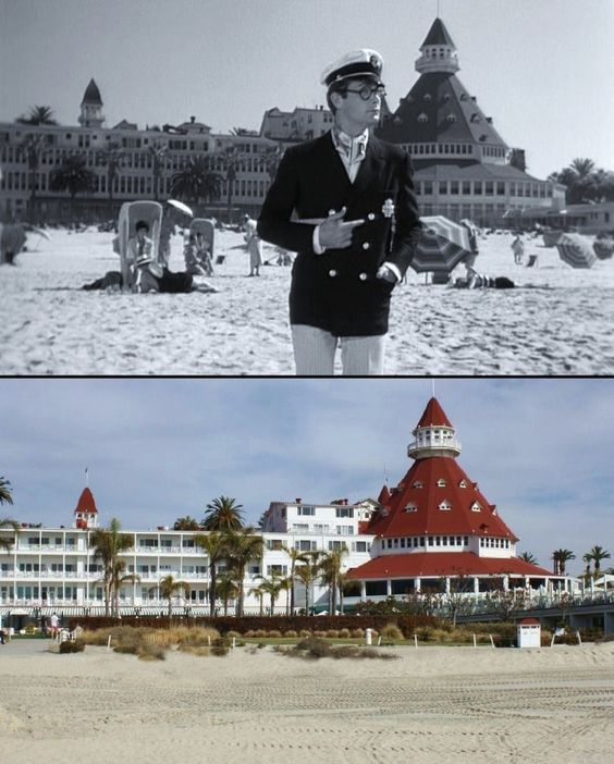 "1. The Hotel Del appeared in the 1959 film ""Some Like It Hot."" Although the location of the hotel in the movie was Miami Beach, it was actually shot right here in Coronado in SoCal."