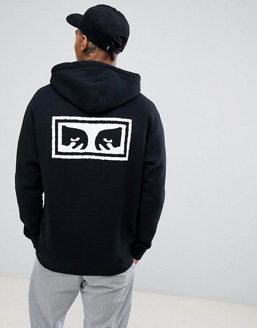Obey hoodie with eyes back print exclusive to | Hoodies