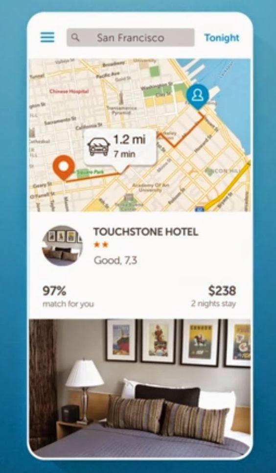 Transnumérique: Booking lance une app pour réserver un hôtel à la ...