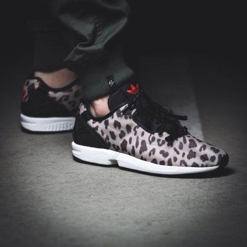 Adidas ZX Flux Decon Leopard Print