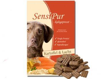 SensiPur ist das neue, völlig andere Hundefutter. SensiPur ist ein optimales Alleinfutter für adulte Hunde. Es wurde entwickelt, weil immer mehr Hunde herkömmliche Futtersorten nicht vertragen, allergisch reagieren oder magen-/darmempfindlich sind. Dabei treten Futterunverträglichkeiten sehr oft nicht gleich in der Jugend auf, sondern erst im Laufe des Lebens. SensiPur ist hypoallergen.