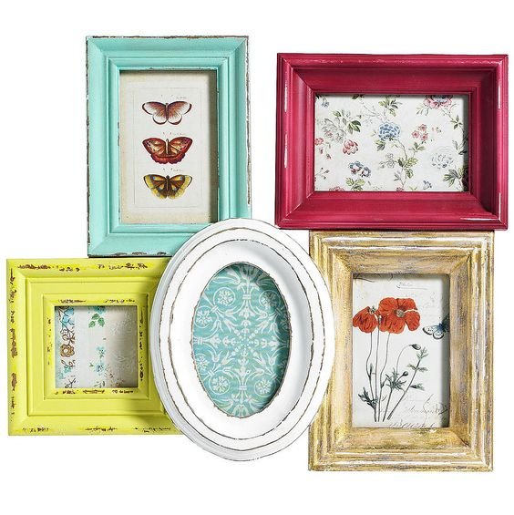 multi picture frame for wall by nordal by idea home co notonthehighstreetcom