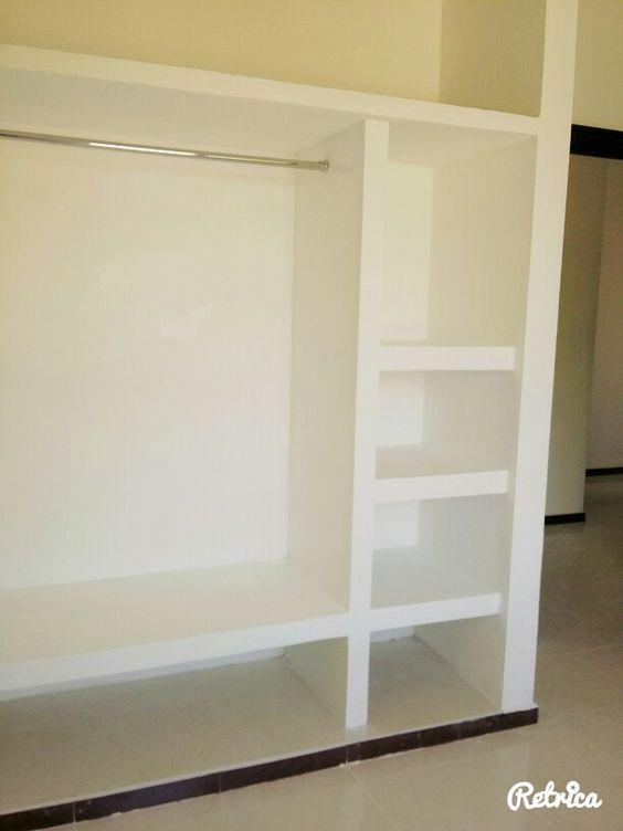 Modelos de closets de tablaroca