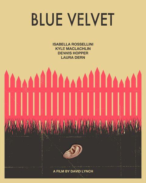 Blue Velvet Movie Poster (Hot Pink Version) Art Print by JazzBerryBlue