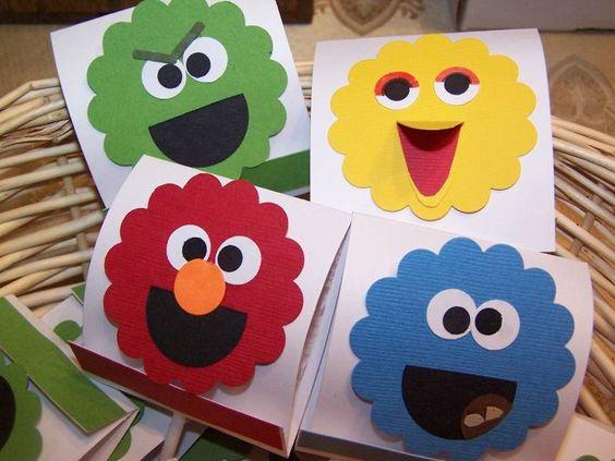 Sesame Street Lollies!