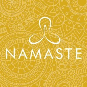 Image result for yellow namaste