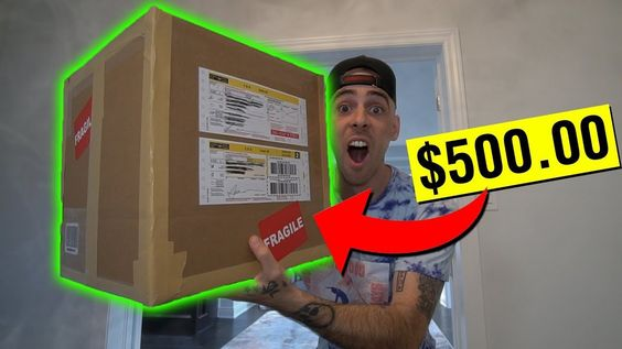 BUYING A MYSTERY BOX OFF THE DARK WEB!! (GONE WRONG) - - -
