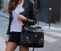 casual yet bold its all about the bag