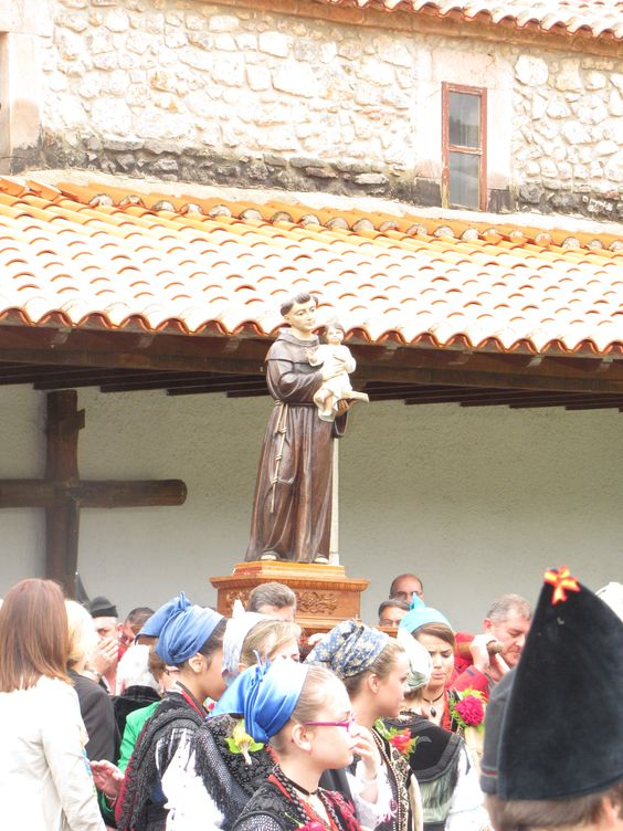 #SanAntoniodePadua. 13 de junio.  #Cue, #Llanes #Asturias #spain.  #Fiestastradicionales.