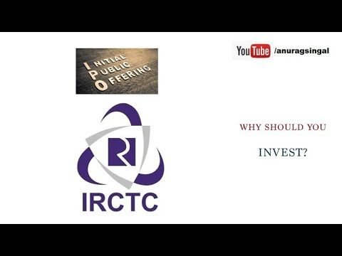 Irctc Ipo Should You Invest How To Apply In Irctc Ipo Irtc Ipo Detailed Analysis Youtube Investing How To Apply Analysis