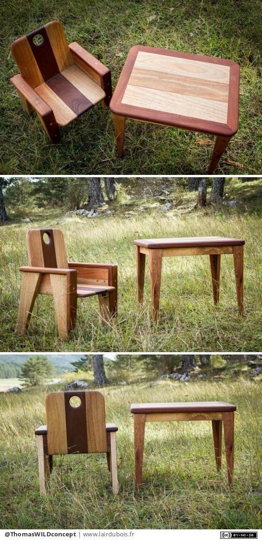 Table Et Chaise Pour Enfant Par Thomaswildconcept Table Et Chaise Enfant Chaise Enfant Et Table Et Chaises