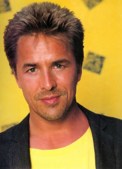 Don Johnson - Miami Vice ( 80's heartthrob)...YET ANOTHER MAN WITH A GUN COINCIDENCE LOL