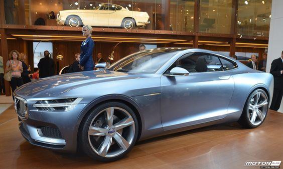One More Volvo Concept Coupe Shot #Volvo