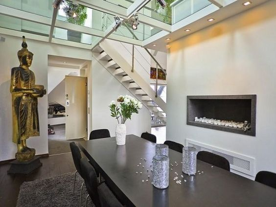 ... loft apartment dining room with lighting – Home Design Inspiration