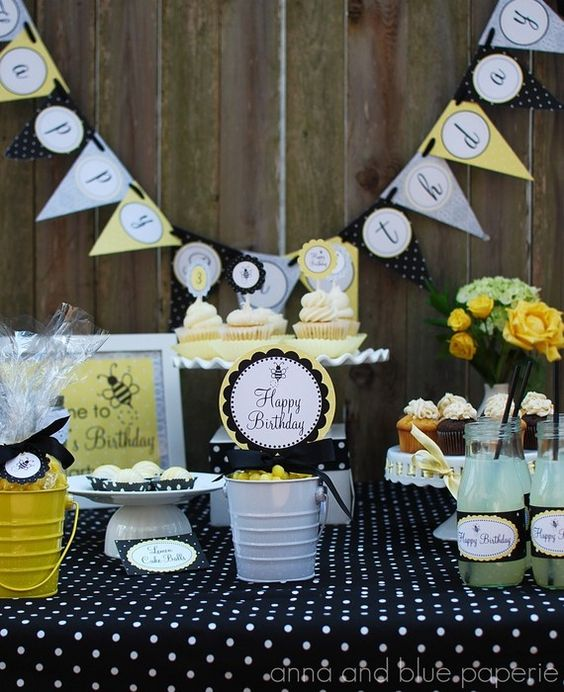 Throwing the perfect birthday party using etsy.