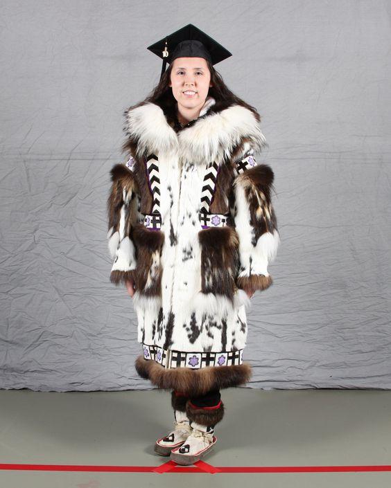 Ilisagvik College grads show their Inupiaq Pride! | sew clothing ...