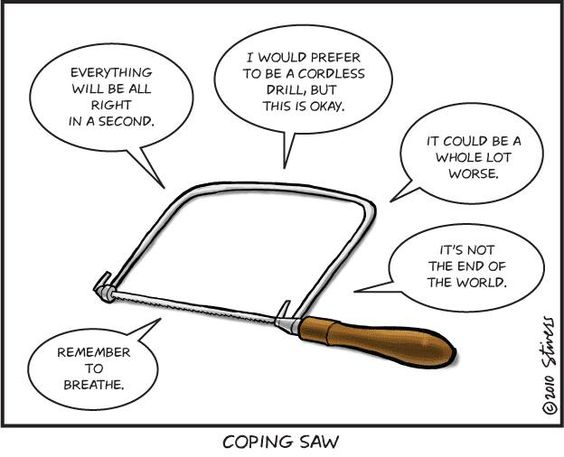 a new 'Coping Saw' definition. #woodworking #humor | humor ...