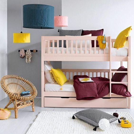 S parables ces lits superpos s se transforment en 2 lits jumeaux ou en 2 ban - Ikea lit superpose blanc ...