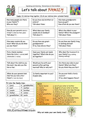 Printables Adult Esl Worksheets language printable worksheets and homework on pinterest lets talk about family worksheet free esl made by teachers