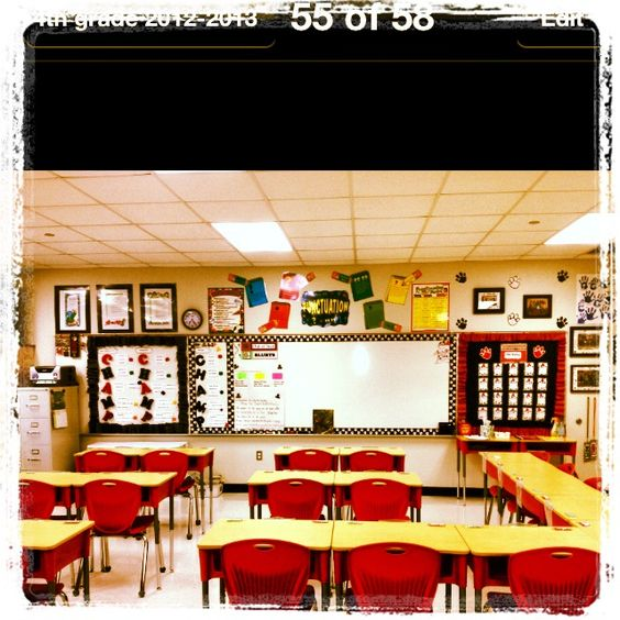 My 4th grade classroom.  Excited about this year.