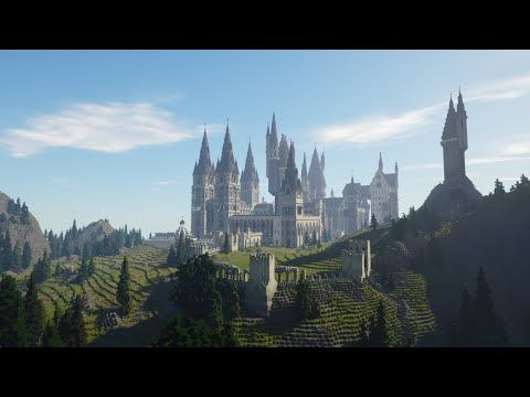 Pottercraft The Wizarding World Of Harry Potter In Minecraft Pre Release 1 Minecraft Pro Wizarding World Of Harry Potter Wizarding World Minecraft Projects