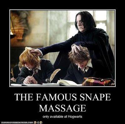 The Totally Insane Writer: A Little Harry Potter Humor