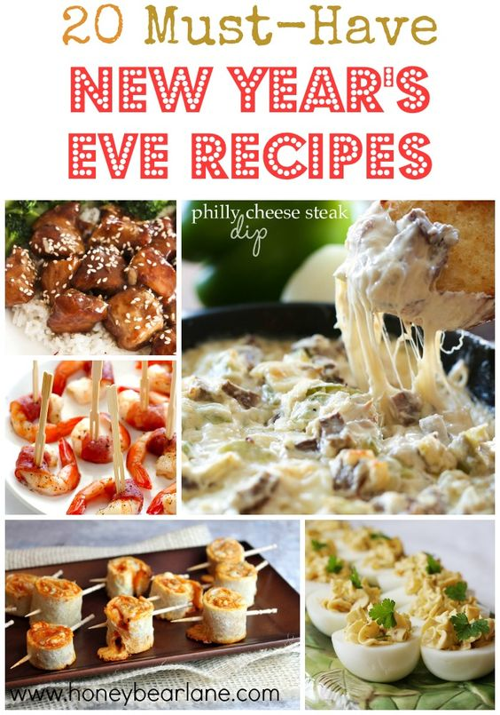 20 Must Have New Year's Eve Recipes - Honeybear Lane