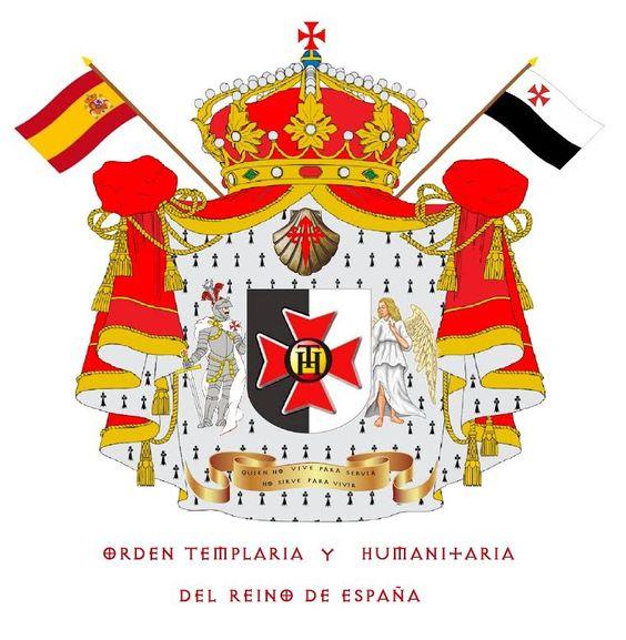 ESCUDO HERÁLDICO DE LA ORDEN TEMPLARIA Y HUMANITARIA DEL REINO DE ESPAÑA. (O.T.H.+E)