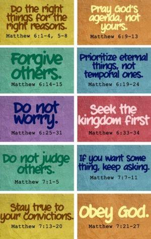 Sermon on the mount                                                       …