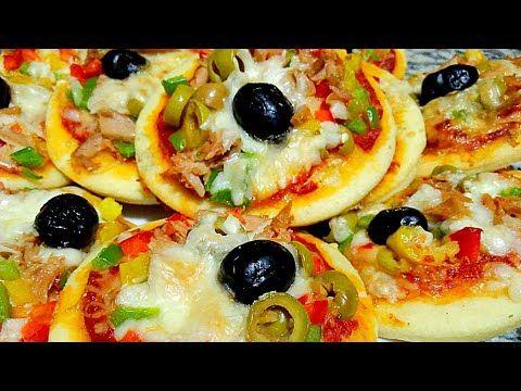 29410 ارووع ميني بيتزا مثل المطاعم عجين ناااااجح 100 مع حشوة لذييذة جدااا شهيوات رمضان Youtube Cooking Food Recipes