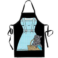 Wizard Of Oz™ Dorothy Apron  Want to know what's cookin' in Emerald City? $25.00