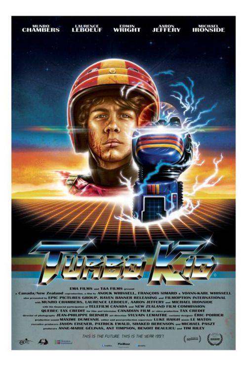 Turbo Kid (2015, Canada / New Zealand).  Half mask, half Emma; glove replaced with sword