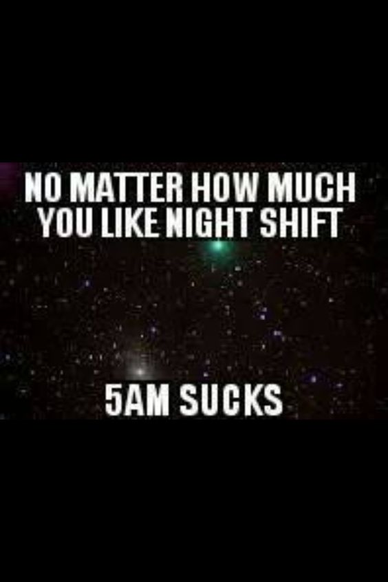 for me it's actually 3AM.