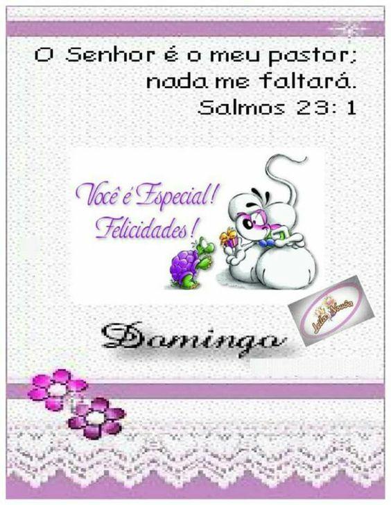 O Senhor é o meu pastor;  nada me faltará