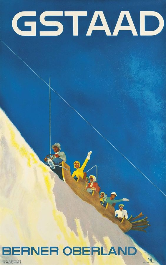 Gstaad, Alex Walter Diggelmann (1902-1987)
