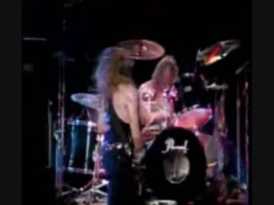 Janick Gers Crazy Guitar Solo '90