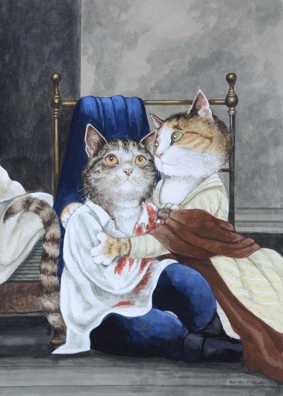 """""""The Death of Werther (Werther - Opera of Jules Massenet)"""" par Susan Herbert"""