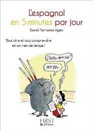 Livre Petit Livre de - L'espagnol en 5 minutes par jour enligne - On http://www.meibailiren.com/Lire-petit-livre-de-lespagnol-en-5-minutes-par-jour-enligne.html [GRATUIT].  Ce petit livre est très bien conçu, chaque chapitre donne l'essentiel dans le domaine abordé. Facile à consulter , il répond bien aux besoins d'un débutant ou même plus. Excellent rapport qualité prix. Lire Petit Livre de – L'espagnol en 5 minutes par jour réserver en lig