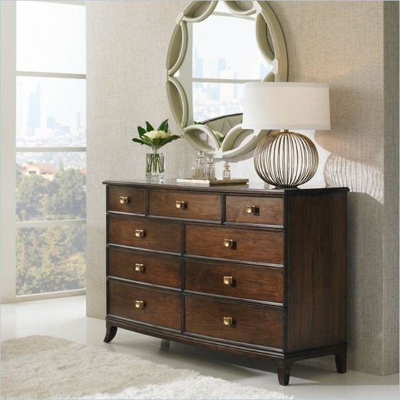 Crestaire - Ladera Dresser in Porter - 436-13-05 - Stanley Furniture - Bedroom - Dresser - Modern Furniture